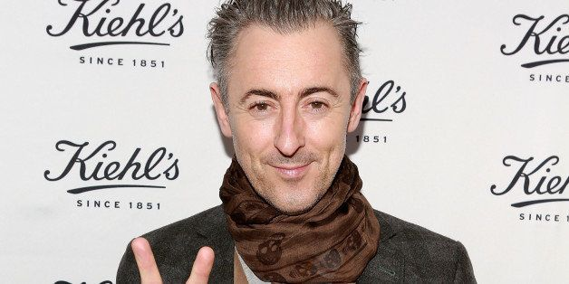 NEW YORK, NY - DECEMBER 09:  Actor Alan Cumming attends Kiehl's Since 1851 Honors The Ali Forney Center And Store And Barber