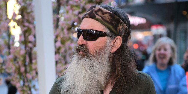 GOOD MORNING AMERICA - Phil Robertson of 'Duck Dynasty' is a guest on 'Good Morning America,' 5/7/13, airing on the ABC Telev