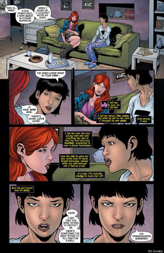 "DC Comic fans were introduced to Alysia in ""Batgirl"" #19 in early April <a href=""https://www.huffpost.com/entry/dc-comics-tra"