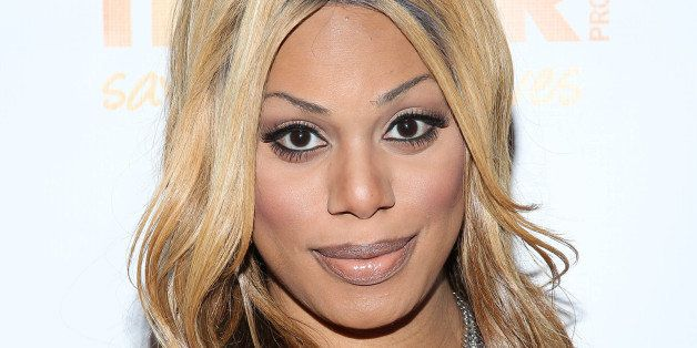NEW YORK, NY - OCTOBER 23:  Laverne Cox attends the Trevor NextGen 4th Annual Fall Fete at The Angel Orensanz Foundation on O