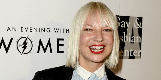 BEVERLY HILLS, CA - MAY 18:  Singer Sia arrives at An Evening With Women benefiting The L.A. Gay & Lesbian Center at the Beve