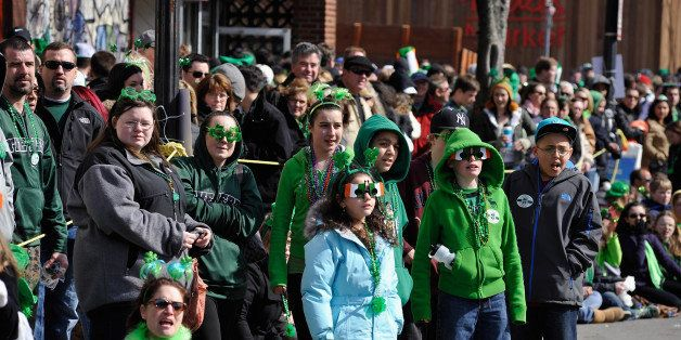 SOUTH BOSTON, MA - MARCH 17:  General atmosphere at the South Boston 2013 St. Patrick's Day Parade on March 17, 2013 in South