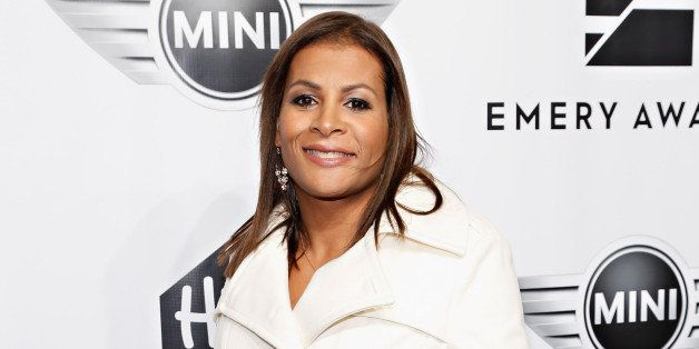 NEW YORK, NY - NOVEMBER 13:  Mixed martial artist Fallon Fox attends the 2013 Emery Awards at Cipriani Wall Street on Novembe