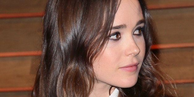 WEST HOLLYWOOD, CA - MARCH 02:  Actress Ellen Page attends the 2014 Vanity Fair Oscar Party hosted by Graydon Carter on March