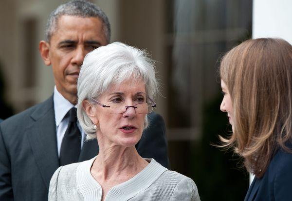 "Health and Human Secretary Kathleen Sebelius <a href=""https://www.huffpost.com/entry/kathleen-sebelius-lgbt-legacy_b_5132588"""