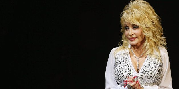SYDNEY, AUSTRALIA - FEBRUARY 18:  Dolly Parton performs live for fans at Sydney Entertainment Centre on February 18, 2014 in