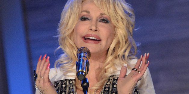 NASHVILLE, TN - APRIL 27:  (EXCLUSIVE COVERAGE) Dolly Parton performs during Dolly Parton Q Sessions featuring 'Blue Smoke' Q