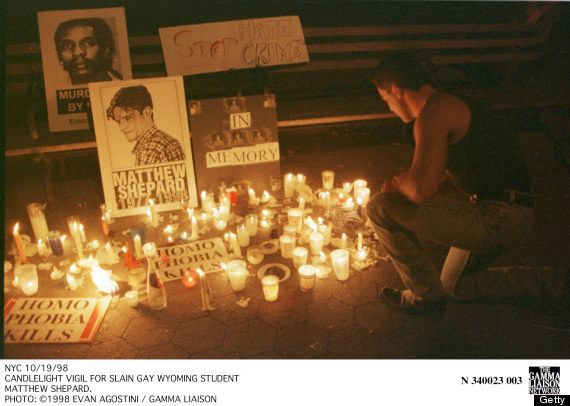 """The Matthew Shepard & James Byrd Jr. Hate Crimes Prevention Act <a href=""""https://www.huffpost.com/entry/hate-crimes-bill-to-b"""