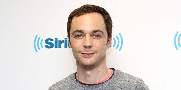 NEW YORK, NY - MAY 08:  (EXCLUSIVE COVERAGE) Actor Jim Parsons visits at SiriusXM Studios on May 8, 2014 in New York City.  (