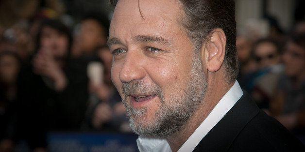 PARIS, FRANCE - APRIL 01: Actor Russell Crowe  attends the 'Noah' Premiere at Cinema Gaumont Marignan on April 1, 2014 in Par