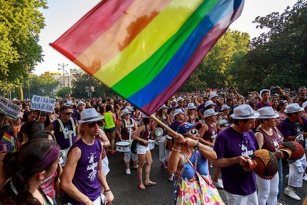 """<a href=""""http://www.madridorgullo.com/en/about"""" target=""""_blank"""">Madrid Pride</a> puts the country's rich culture on display."""