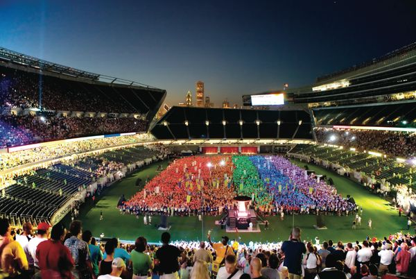 Organized in 1980, the international Gay Games celebrate LGBT athletes and allies. According to the official rules, the games
