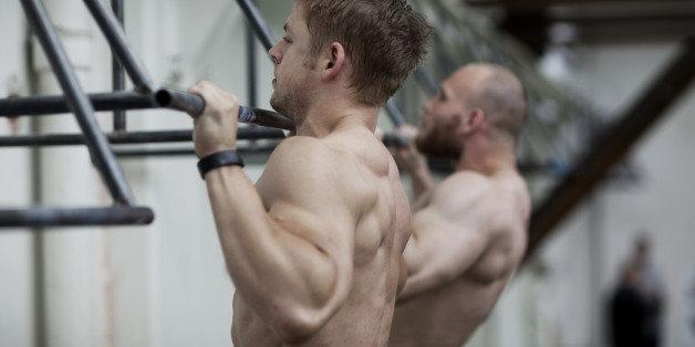 Shaved males lockerroom