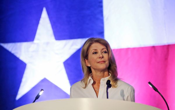 Texas might be leaning more purple than red these days. Wendy Davis, the Democratic candidate for governor, and LGBT Democrat