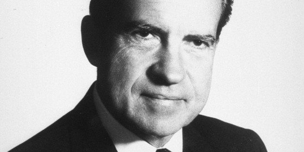 377869 37:  (UNDATED FILE PHOTO)  Portrait of 37th United States President Richard M. Nixon. June 17, 2002 is the 30th annive
