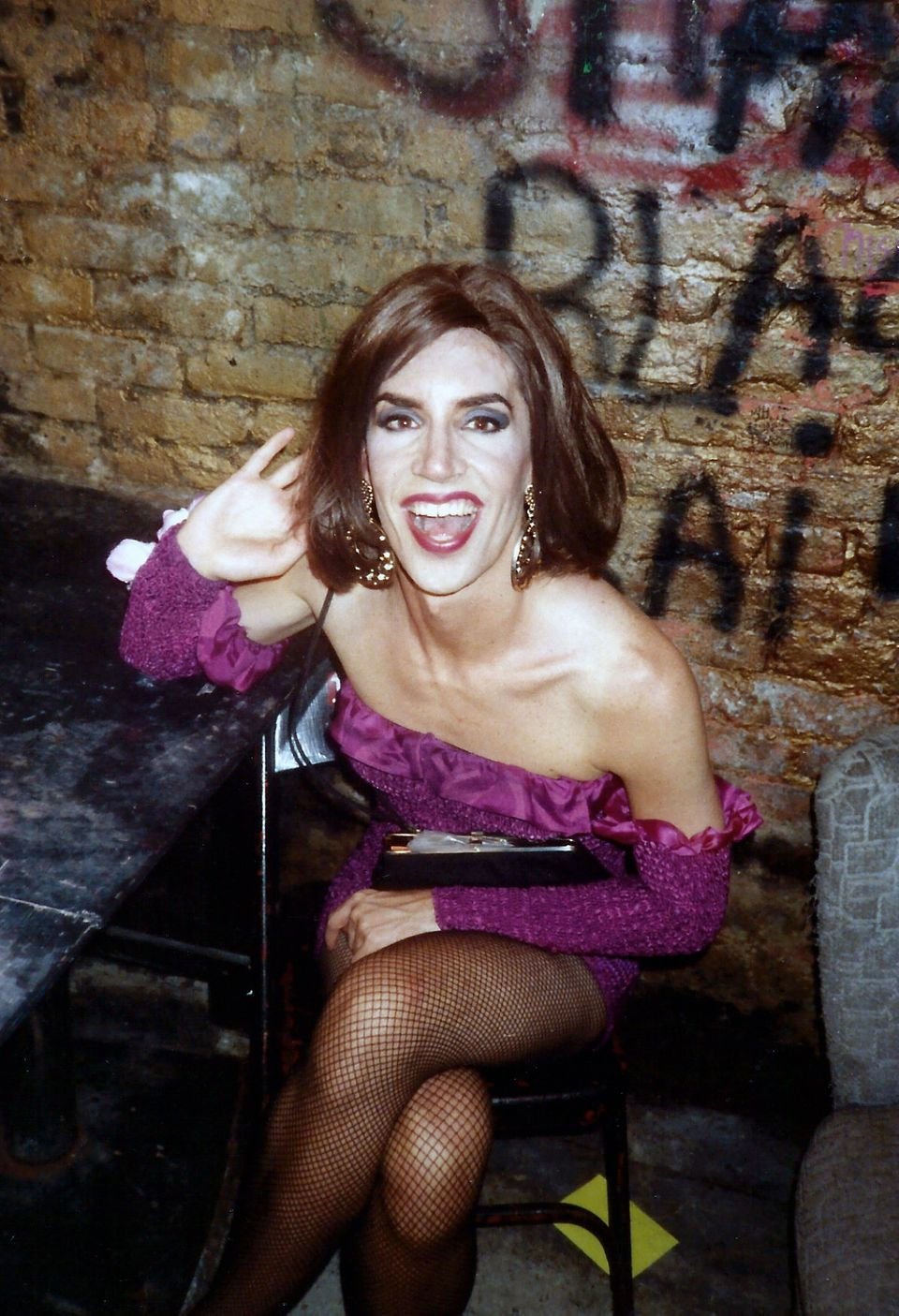 Pyramid Club Dressing Room (1991)
