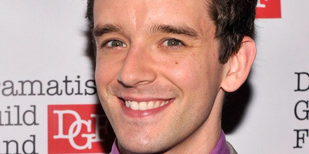 NEW YORK, NY - OCTOBER 21:  Actor Michael Urie attends the Great Writers Thank Their Lucky Stars annual gala hosted by The Dr