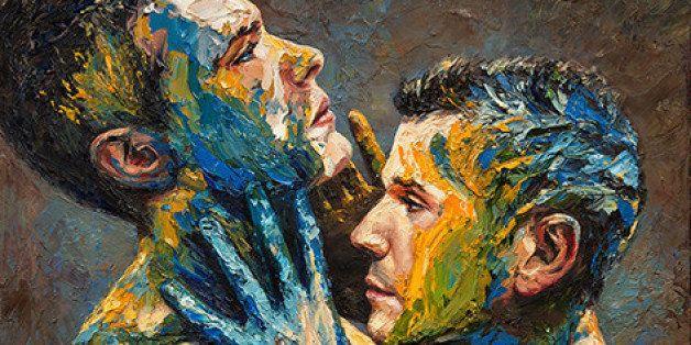 paul richmond s war paint series challenges masculine conventions