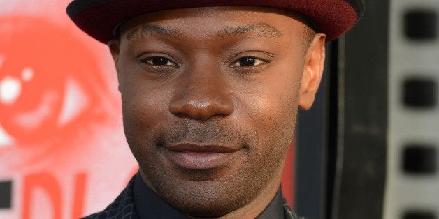 HOLLYWOOD, CA - MAY 30:  Actor Nelsan Ellis arrives at the Premiere of HBO's 'True Blood' 5th Season at ArcLight Cinemas Cine