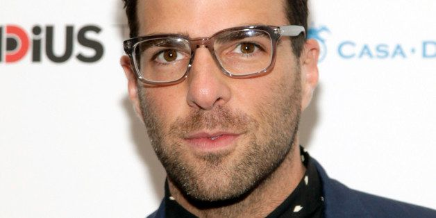 """Actor Zachary Quinto attends a screening of """"Supermensch: The Legend of Shep Gordon"""" on Thursday, May 29, 2"""