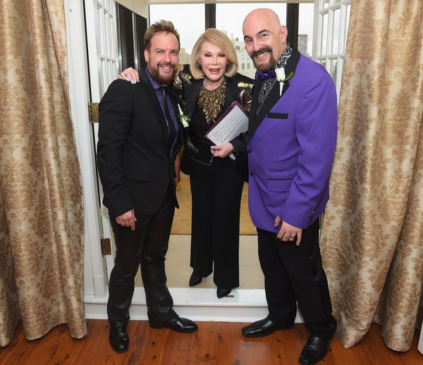 "Last month Rivers <a href=""https://www.huffpost.com/entry/joan-rivers-officiates-gay-wedding-_n_5696137"" target=""_blank"">offi"