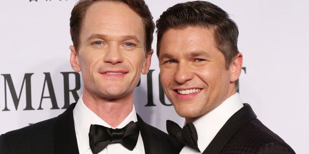 NEW YORK, NY - JUNE 08:  Neil Patrick Harris and David Burtka attend American Theatre Wing's 68th Annual Tony Awards at Radio