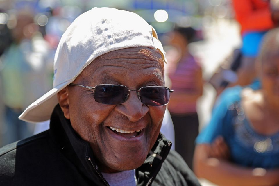 """Desmond Tutu leaves no doubt about his opinions regarding LGTB rights, declaring: 'I would not worship a God who is homophob"