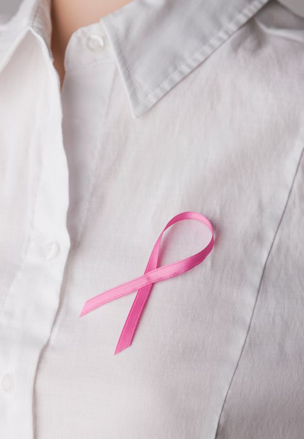 """""""I happen to be a gay male who has breast cancer,"""" says Michael Kovarik. But he didn't stop at struggling to fight the diseas"""