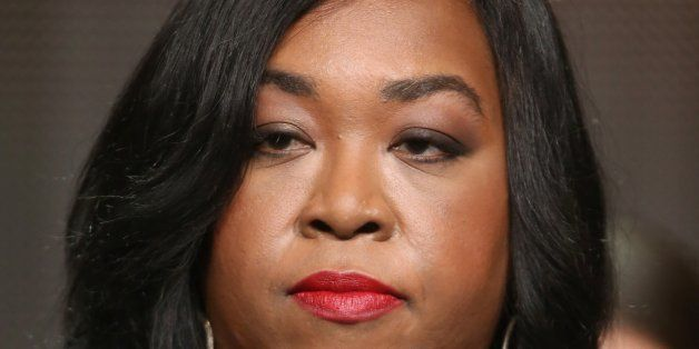 BEVERLY HILLS, CA - JULY 15: Executive producer Shonda Rhimes speaks onstage at the 'How To Get Away With Murder'' panel duri