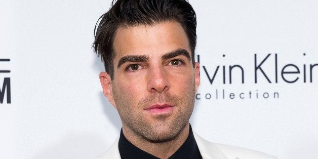 FILE - In this June 10, 2014 file photo, Zachary Quinto attends amfAR's fifth annual Inspiration Gala in New York. Quinto w