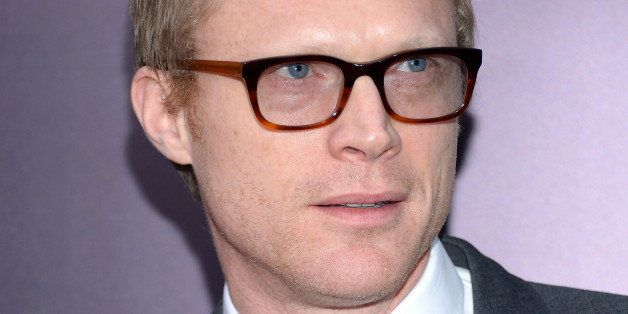 """Actor Paul Bettany attends the premiere of """"Noah"""" at the Ziegfeld Theatre on Wednesday, March 26, 2014 in New York. (Photo by"""