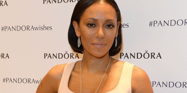 LONDON, ENGLAND - NOVEMBER 12:  Mel B attends the #PandoraWishes campaign launch event, Pandora Marble Arch flagship store, L