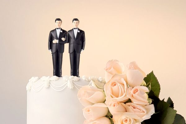 This past weekend, I attended a gay wedding -- or, as I like to call it, a wedding.  My 36-year-old brother married his partn