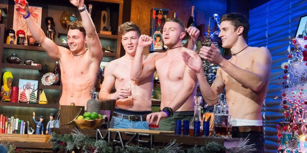 WATCH WHAT HAPPENS LIVE -- Pictured: Warwick Rowers -- (Photo by: Charles Sykes/Bravo/NBCU Photo Bank via Getty Images)