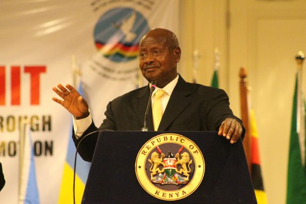 """Things looked more dire than ever for LGBT Ugandans earlier this year when President Yoweri Museveni <a href=""""http://www.bbc."""