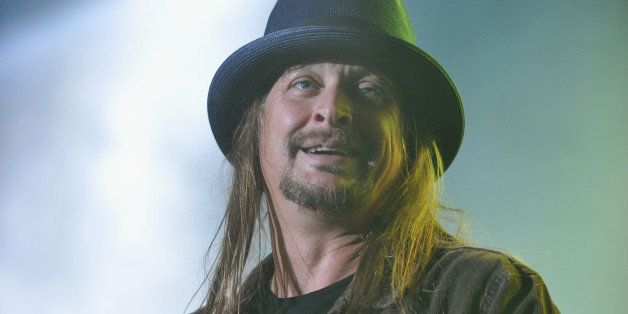 LOUISVILLE, KY - OCTOBER 05:  (FOR EDITORIAL USE ONLY)   Kid Rock performs during the 2014 Louder Than Life Festival at Champ