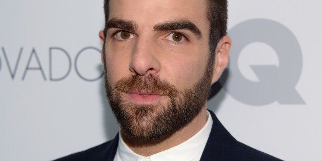 Actor Zachary Quinto attends the 2014 GQ Gentlemen's Ball at IAC HQ on Wednesday, Oct. 22, 2014 in New York. (Photo by Evan A