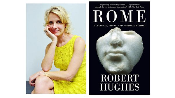 """<i>What book is on your nightstand now?</i> <br> <br> <i><a href=""""http://www.amazon.com/Rome-Cultural-Visual-Personal-History"""