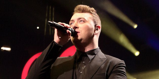 Sam Smith performs in concert during the Q102 Jingle Ball at the Wells Fargo Center on Wednesday, Dec. 10, 2014, in Philadelp