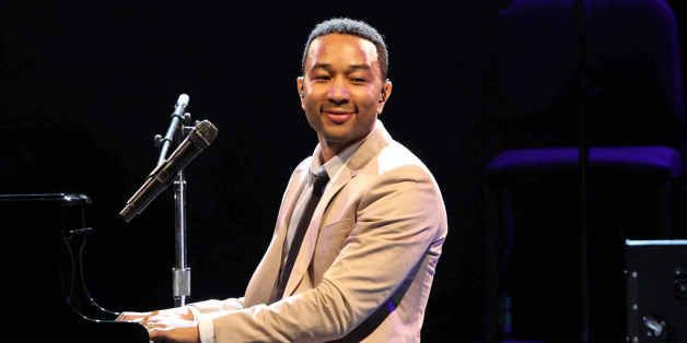 John Roger Stephens as John Legend performing as part of The All of Me Tour at Chastain Park Amphitheatre on Tuesday, July 29