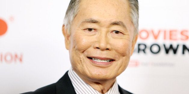 BEVERLY HILLS, CA - FEBRUARY 02:  George Takei arrives at the AARP 14th Annual 'Movies For Grownups' Awards Gala held at the