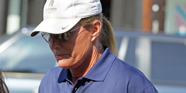 LOS ANGELES, CA - OCTOBER 08: Bruce Jenner is seen filming his reality show on October 20, 2014 in Los Angeles, California.