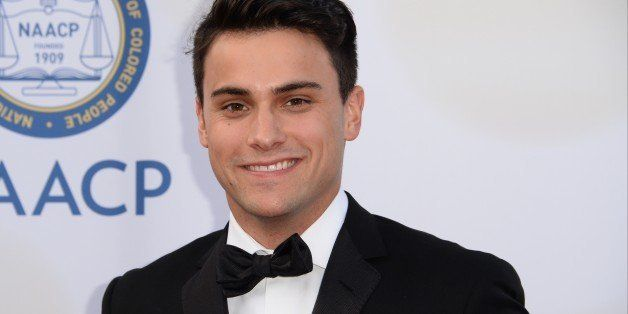Actor Jack Falahee attends the 46th NAACP Image Awards at the Pasadena Civic Auditorium in Pasadena, California February 6, 2
