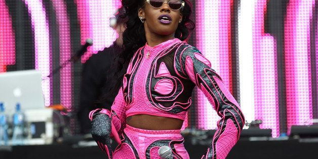 U.S rapper Azealia Banks performs on the main stage at Wireless festival in Finsbury Park, north London, Saturday, July 5, 20