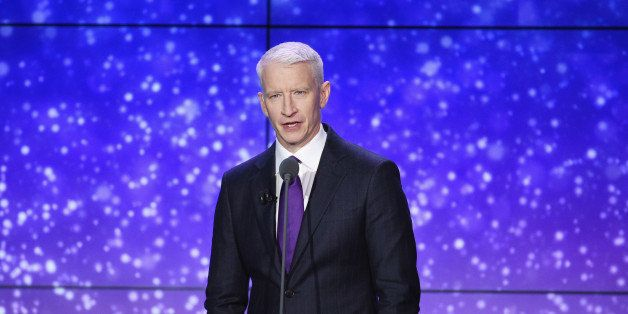 NEW YORK, NY - NOVEMBER 18:  Anderson Cooper speaks onstage during the 2014 CNN Heroes: An All Star Tribute at American Museu