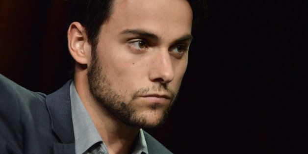 "Jack Falahee during the ""How to Get Away with Murder"" panel at the Disney/ABC Television Group 2014 Summer TCA at the Beverly"