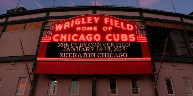 CHICAGO - OCTOBER 26:  Wrigley Field, home of the Chicago Cubs baseball team on October 26, 2014 in Chicago, Illinois. (Photo