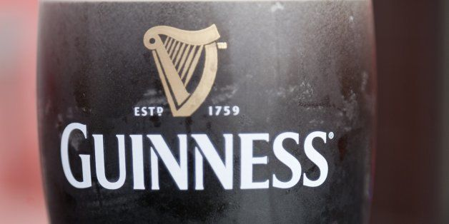 Portrait of a pint of Guiness