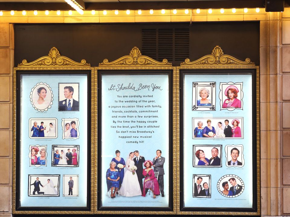 NEW YORK, NY - MARCH 01:  'It Shoulda Been You', directed by David Hyde Pierce and starring Tyne Daly, Harriet Harris, Sierra