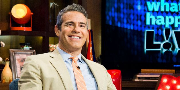 WATCH WHAT HAPPENS LIVE -- Pictured: Andy Cohen -- Photo by: Charles Sykes/Bravo/NBCU Photo Bank via Getty Images
